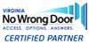 No Wrong Door Certified Partner Logo
